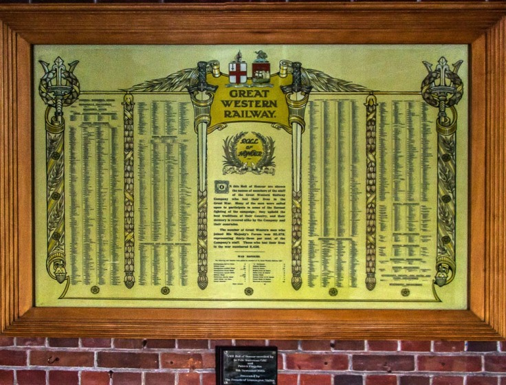 Roll of Honour Leamington